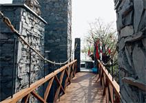 汶川園  看千年羌族文化綠建築