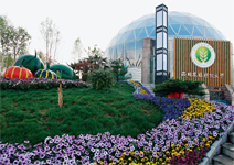 9大企業展園 只拚綠色不比五顏六色