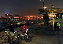 西區復活3〉大稻埕碼頭 變身單車樂活夜據點