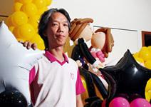 張兆富  氣球也能做成感動事業