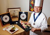 張志騰   華人做西餐照樣贏老外