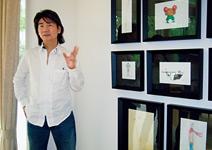 西溪別墅的漫畫家 朱德庸:在這裡,可以把藏在 靈魂深處的東西畫出來