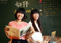 兩個女孩創業基地,讓老社區活起來