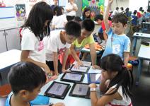 平板取代教室黑板,虛實整合翻轉教育