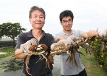 黃喜慶、林東濱 完美「蟹」逅 饕客永難忘