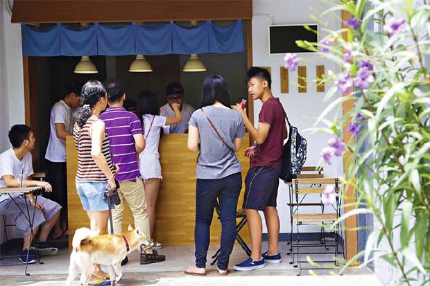 簡樸日式小店 飄出有質感的幸福溫度