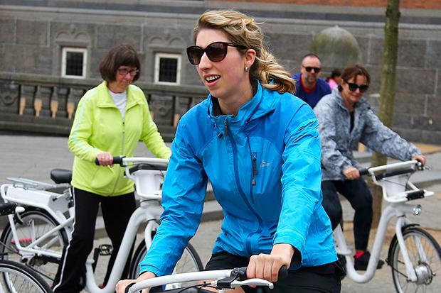 丹麥版Ubike,平板導航、付款一指通