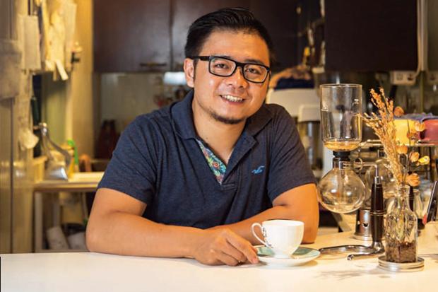 餐飲之光/台灣首位世界盃咖啡烘豆冠軍