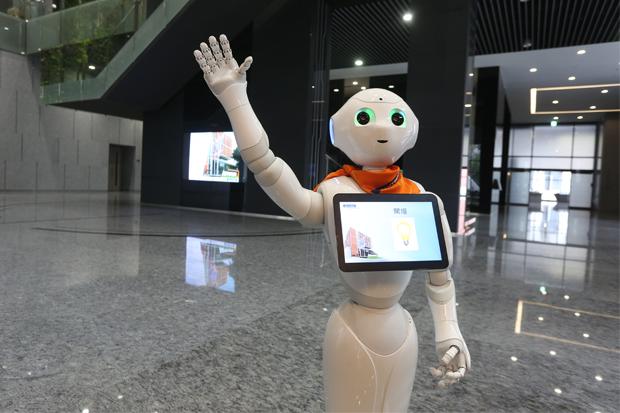 日本熱銷機器人進軍台灣