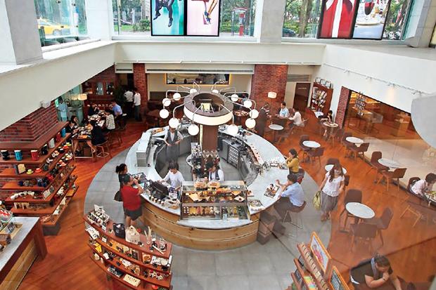 UCC全球首家旗艦店 開&#21843咖啡文化「全」體驗