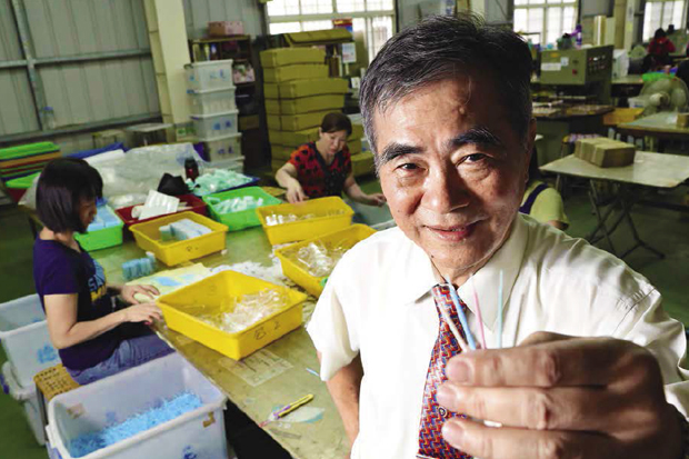 專利牙籤「長羽毛」 一年賣出10億支