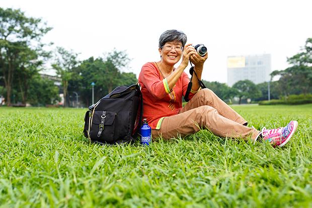 50歲讀大學、自助旅行 把世界當人生教室