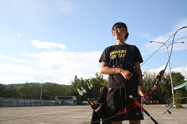 最年輕的射箭國手 以超齡心智為台留牌