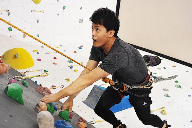 攀岩教會我:學會放手、拆解難題