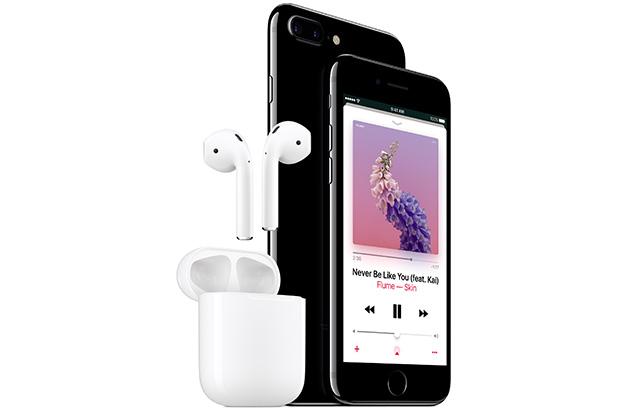藍牙配對快、內建感應器 蘋果AirPods把耳機變聰明