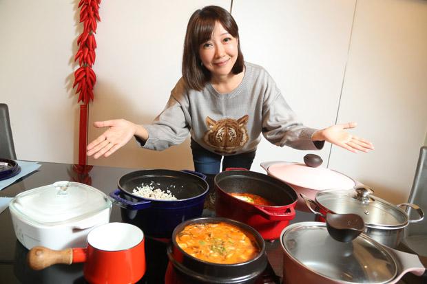 余皓然用時尚好鍋 日日變換幸福料理
