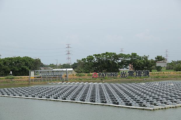 全台首座光電埤塘循環經濟翻轉農業