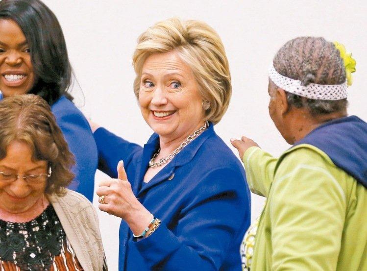 希拉蕊過關 美首見大黨女總統候選人