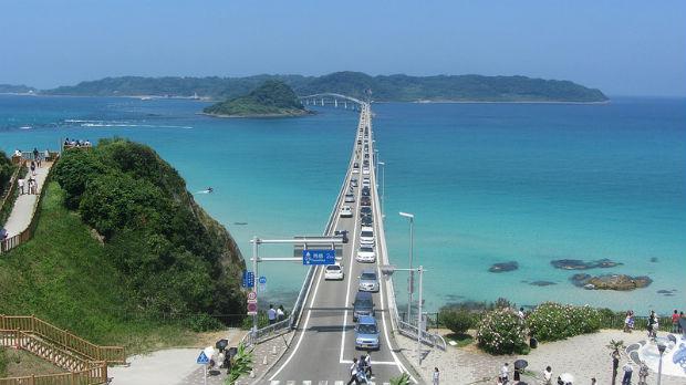 角島大橋     死前必去世界絕景第三名