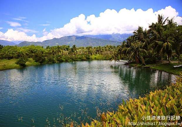 有如仙境般的夢幻湖!花蓮後山的秘境──雲山水