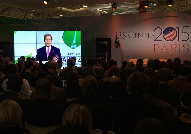 美國國務卿凱瑞:氣候行動急迫,但巴黎議定書應具彈性!