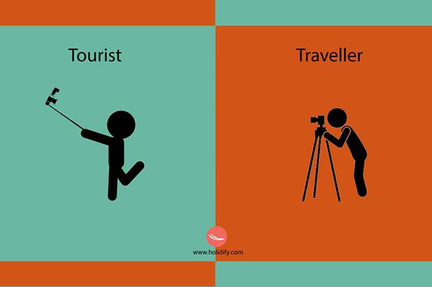 十張對照圖:你是冒險犯難的旅行家,還是沒車不搭的觀光客?