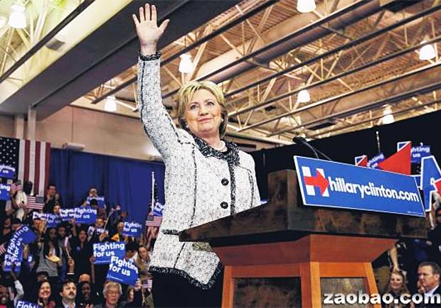 美國總統初選〉希拉蕊南卡羅來納州大勝!為「超級星期二」添聲勢