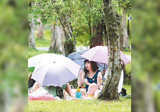 熱島效應作祟     台北又破38度!