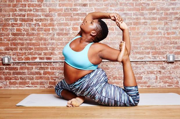 美不是絕對的!大尺碼瑜珈女孩改變世人審美觀