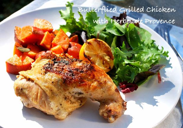 中秋烤肉耍「新雞」:普羅旺斯蝴蝶烤雞