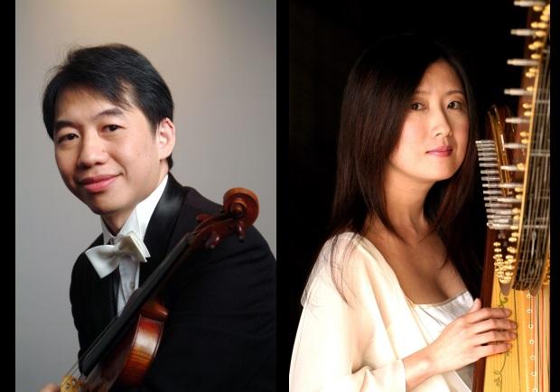 當小提琴遇上豎琴 演繹音樂浪漫對手戲
