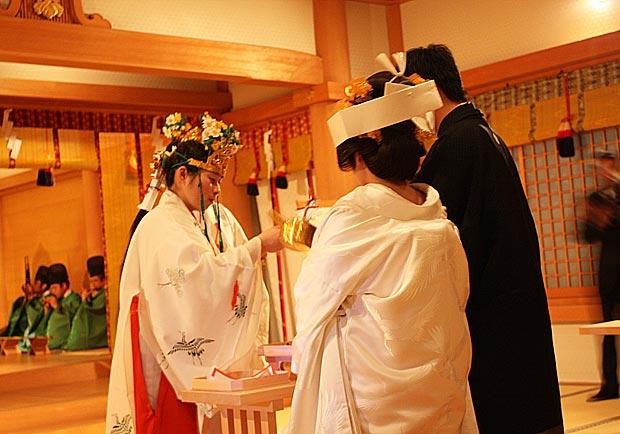 日本傳統神社婚禮內部大公開!