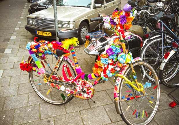 快樂的荷蘭腳踏車-美妝篇