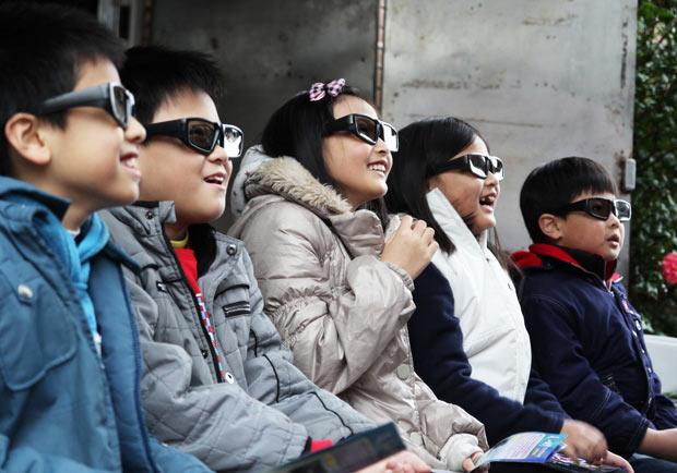 偏鄉孩子的3D電影院