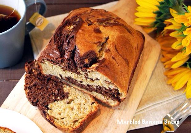 暖胃暖心吃甜甜:大理石香蕉蛋糕