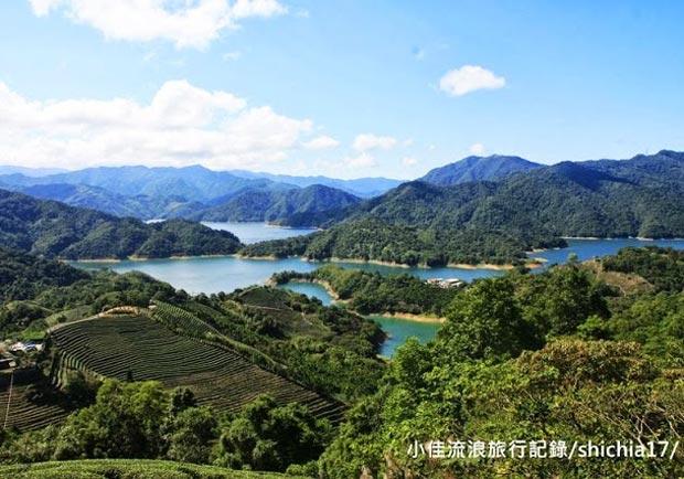 台北石碇千島湖,深山上的仙境!