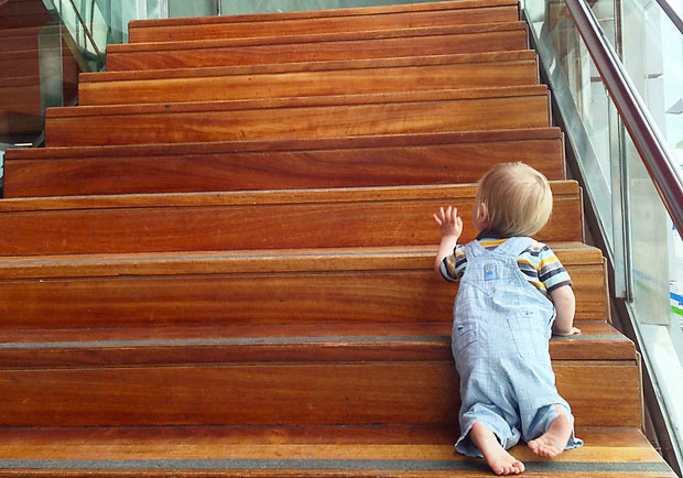 人生不是不能換樓梯,而是不能爬兩三階就換