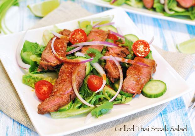 清爽開胃泰美味:泰式烤牛肉沙拉