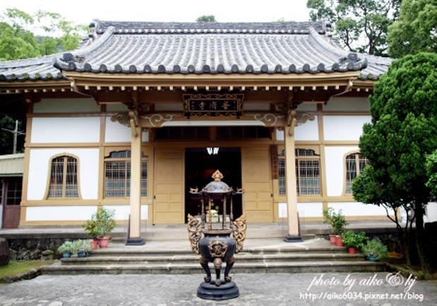 體驗日式感濃厚的普濟寺,彷彿穿越時空到了日本!