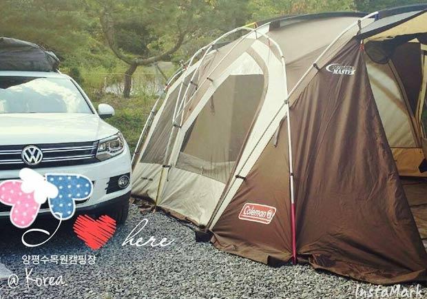體驗韓國最夯的戶外活動,大家一起露營去!