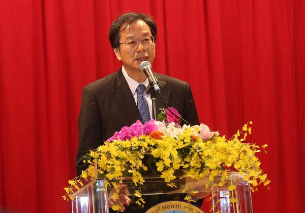 衛福部長蔣丙煌上任,將為食品業進行健康總體檢