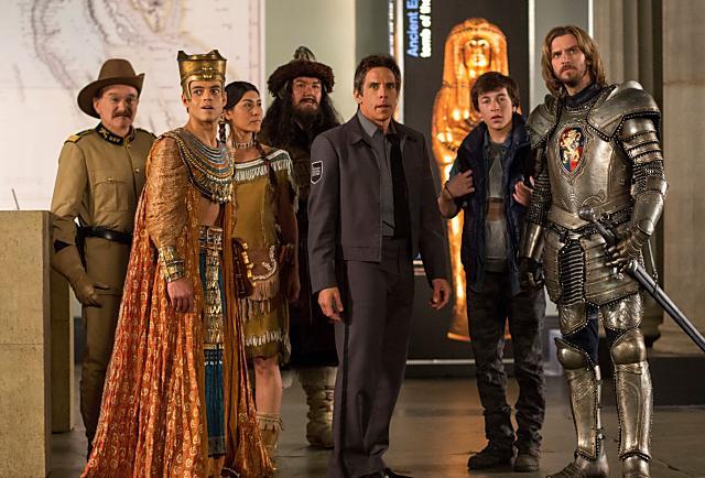 《博物館驚魂夜3》最終回搞笑登場,將與影迷歡度開心聖誕夜!