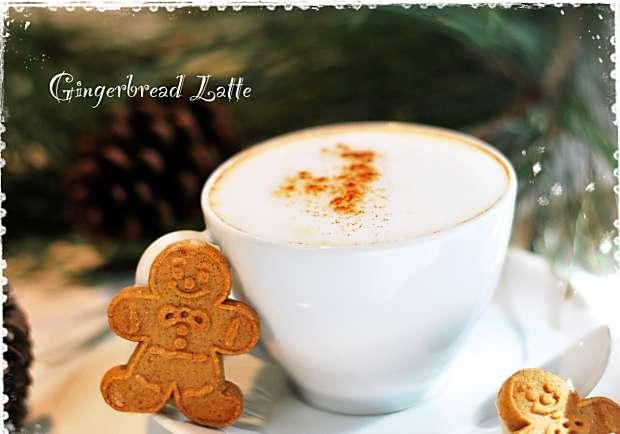 季節限定!聖誕暖呼呼薑餅人拿鐵