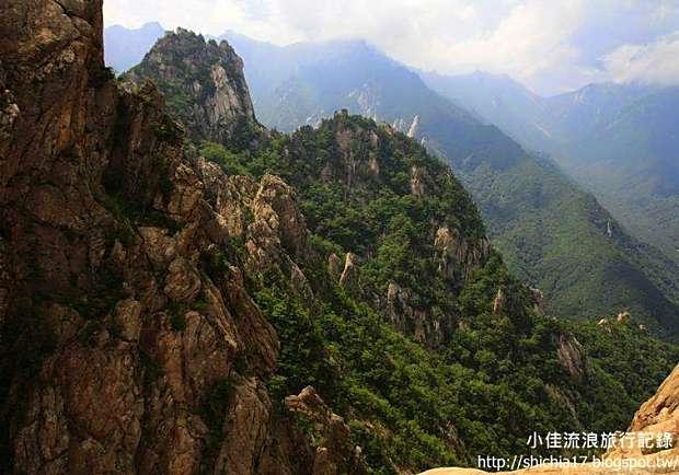 韓國雪嶽山國家公園,四季景致如詩如畫