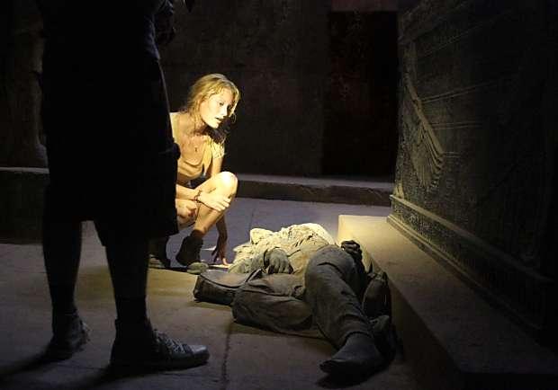 取材自真實埃及詛咒傳說《驚字塔》超顫慄體驗如臨現場