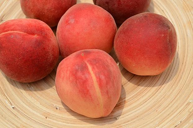 內心依然香甜可口外表卻不再嬌弱的水蜜桃─紅玉桃