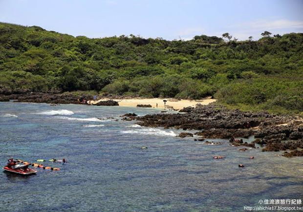 陽光、海水、浮潛樂!遇見台灣小巴里島