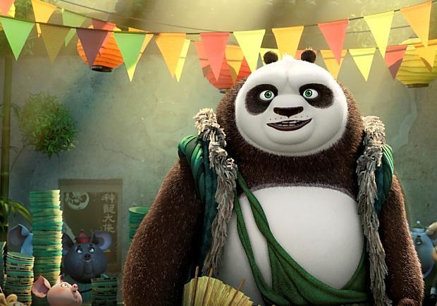 《功夫熊貓3》阿波和蓋世五俠回來了!將帶給您最驚奇連連的精采冒險