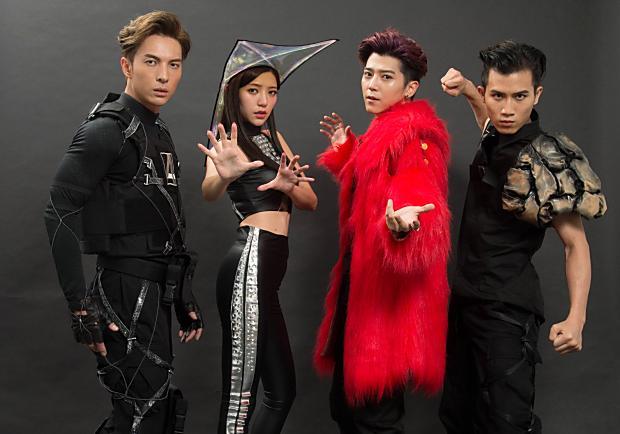 郭雪芙、畢書盡、陳勢安、陳彥允擔任《驚奇4超人》台灣宣傳大使