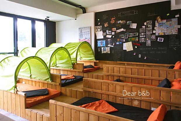 日月潭美式創意青旅!南投背包客棧──有張床 perBED Hostel
